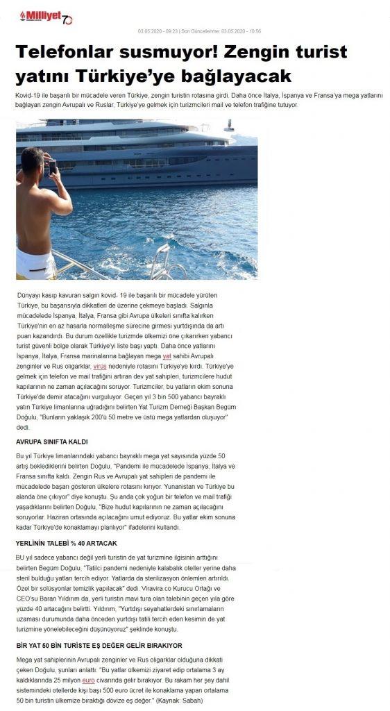 Begüm Yachting – Begüm Doğulu